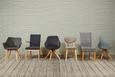 Stuhl Grau/Eiche - Eichefarben/Grau, MODERN, Holz/Kunststoff (47/81/52cm) - Mömax modern living