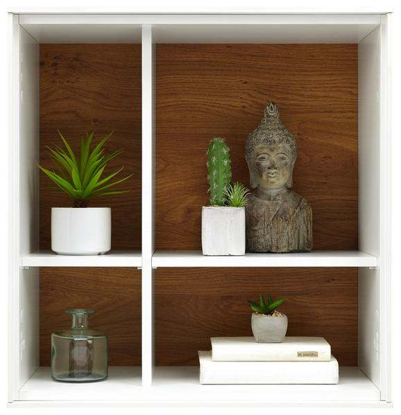 Wandboard Weiß - Weiß, MODERN, Holzwerkstoff (60/63/32cm) - Premium Living