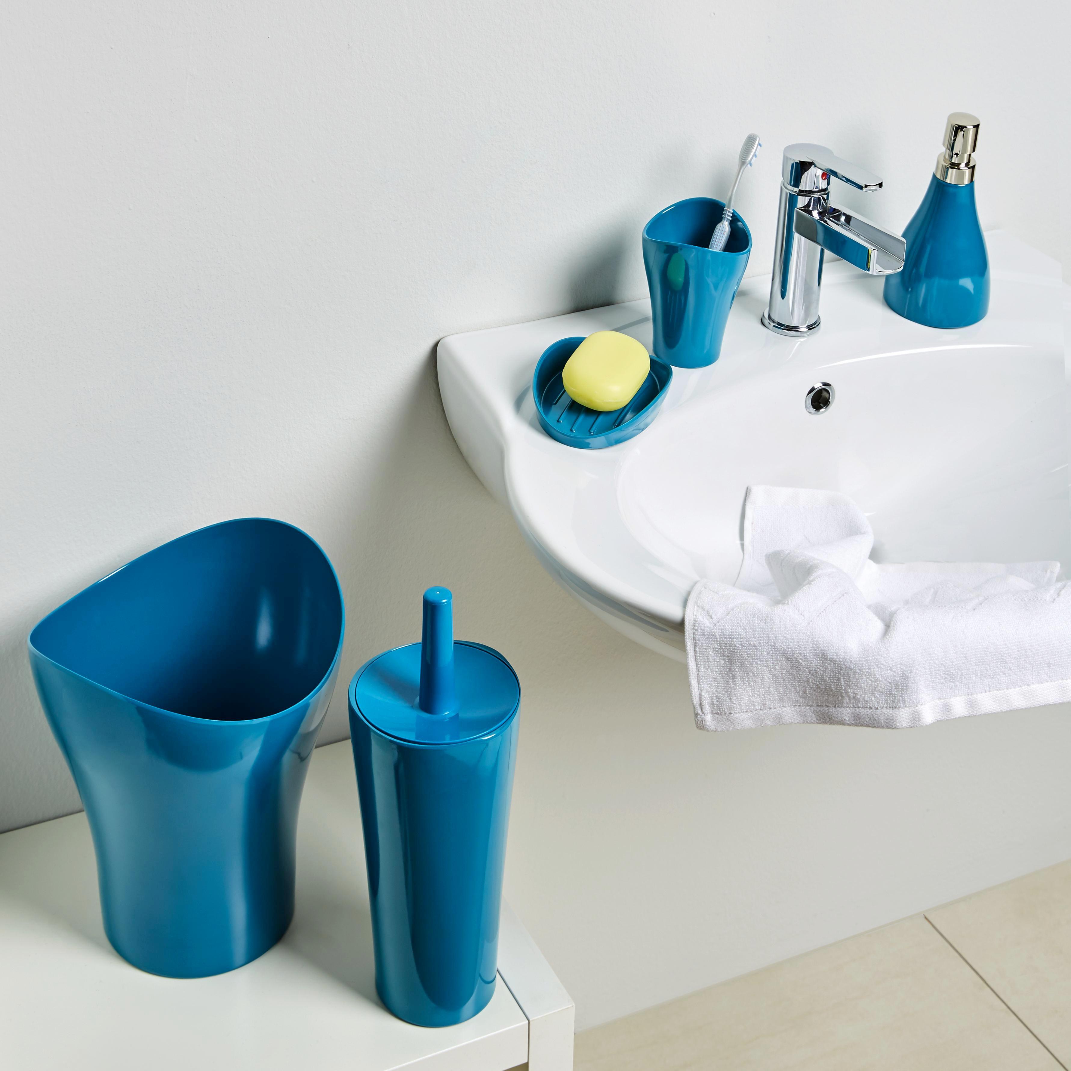 Wc-kefe Bella - petrol, műanyag (12,4/32,5cm) - MÖMAX modern living