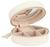 Schmuckschatulle Java Weiß - Weiß, Basics, Textil/Weitere Naturmaterialien (10.5/4.5cm)