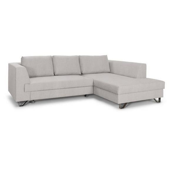 Sedežna Garnitura Mohito - bež/srebrna, Moderno, kovina/tekstil (280/196cm) - Modern Living