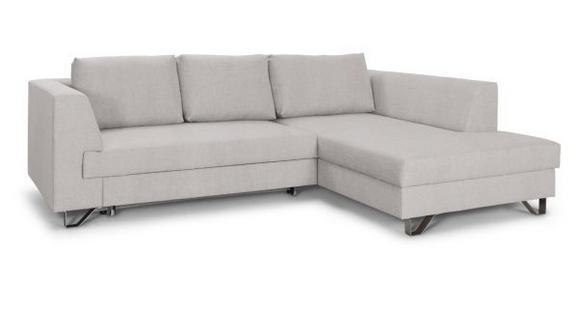 Sedežna Garnitura Mohito - bež/srebrna, Moderno, kovina/tekstil (280/196cm)