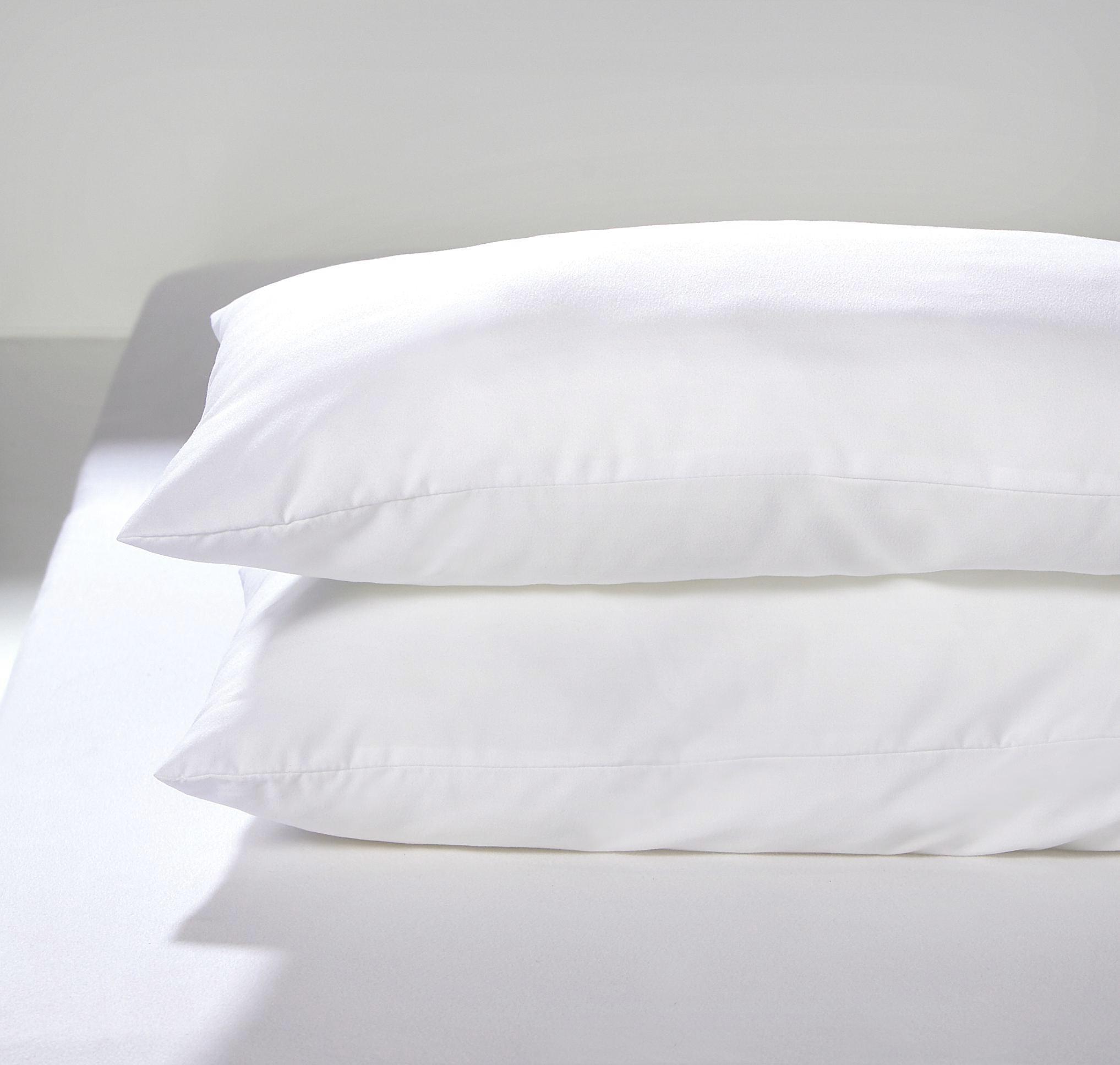 Kopfpolster Lotti ca. 40x80cm, 2 Stk. - Weiß, Textil (40/80cm) - MÖMAX modern living