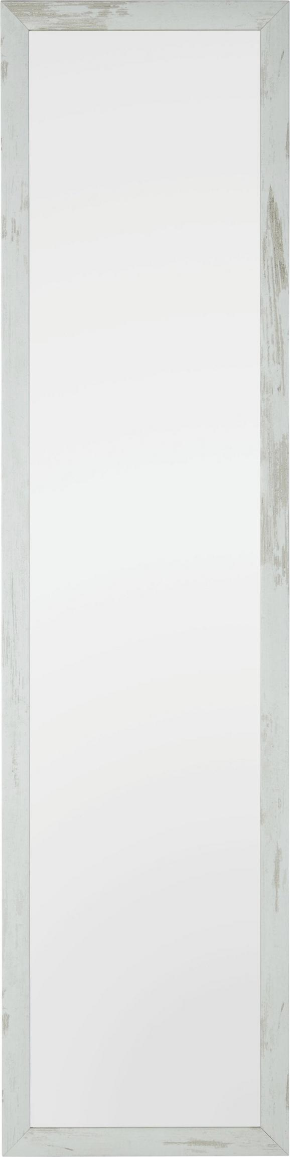 Wandspiegel ca. 40x160x2cm - Weiß, Glas/Holzwerkstoff (40/160/2cm) - Mömax modern living