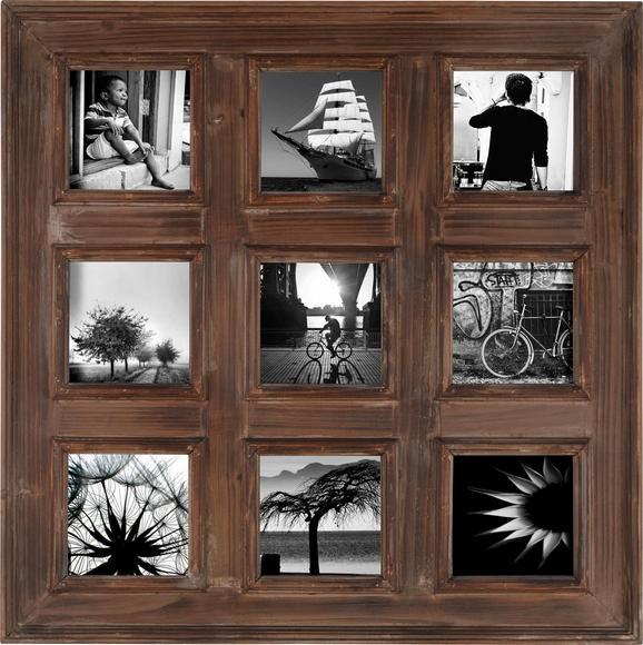 Okvir Za Slike Cora - rjava, Romantika, les (80/80cm) - Mömax modern living