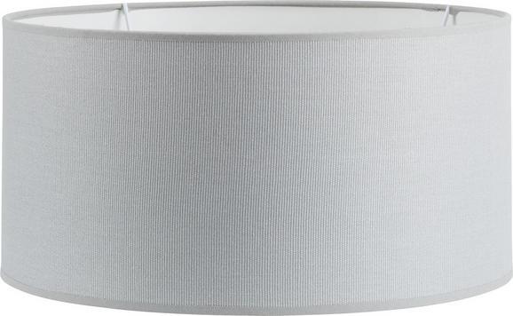 Leuchtenschirm Arno, max. 60 Watt - Grau, Textil/Metall (40/40/20cm) - Mömax modern living