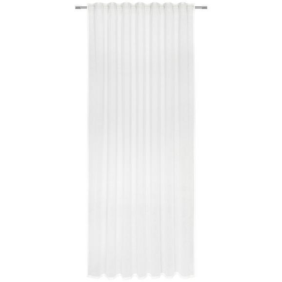 Perdea Prefabricată Sigrid - alb, Romantik / Landhaus, textil (140/245cm) - Premium Living