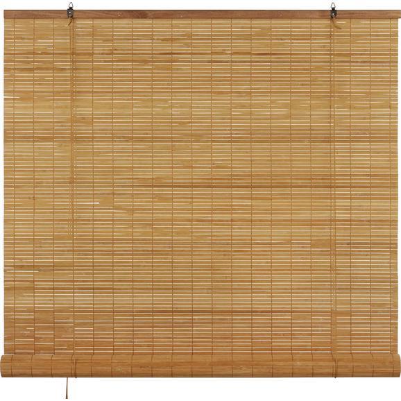 Rollo Woody Braun ca. 100x180cm - Braun, LIFESTYLE, Holz (100/180cm) - Mömax modern living