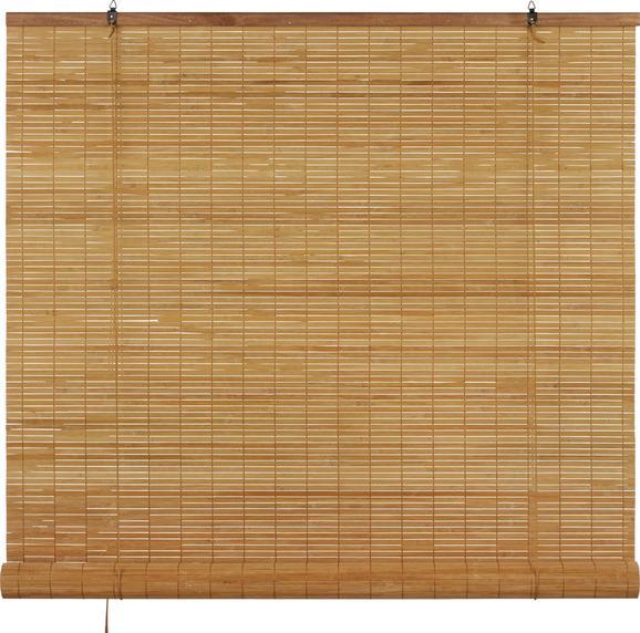 Rollo Woody in Braun, ca. 100x180cm - Braun, LIFESTYLE, Holz (100/180cm) - Mömax modern living