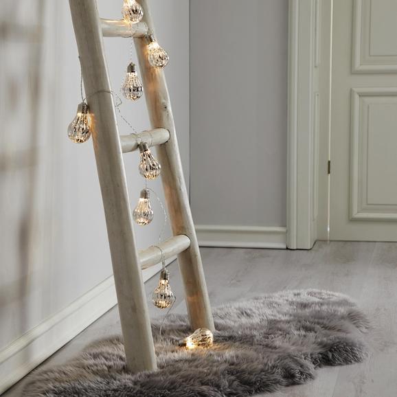 Lichterkette Levin mit 8 Lichtern - Transparent, Basics, Kunststoff (270cm) - Mömax modern living
