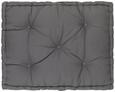 Palettenkissen Palette, ca. 60x80x12cm - Grau, Textil (60/80/12cm) - Mömax modern living