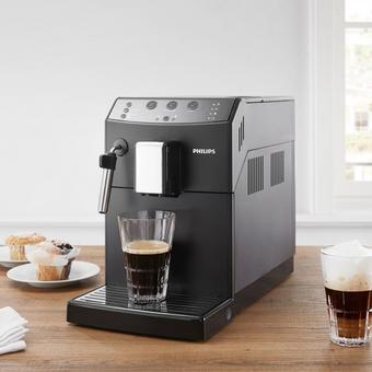 Kaffeevollautomat Philips - Schwarz, MODERN, Keramik/Kunststoff (21,5/42,9/33cm) - Philips