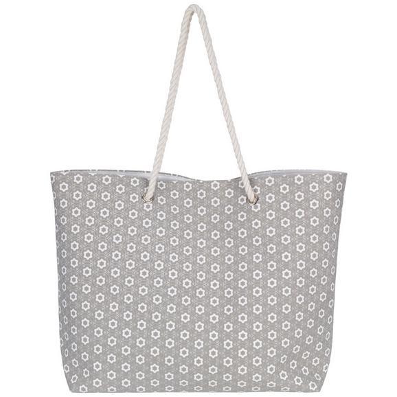Strandtáska Ameline - Bézs, Textil (44/40cm) - Mömax modern living