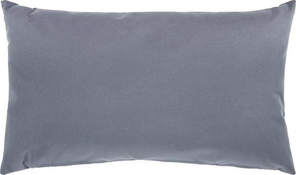 Outdoorkissen Carat 50x30cm - Dunkelgrau, MODERN, Textil (50/30cm) - MÖMAX modern living