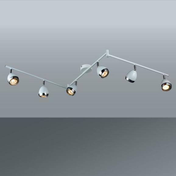 Strahler Nantes, max. 3 Watt - Chromfarben/Weiß, LIFESTYLE, Kunststoff/Metall (150/17,5cm) - MÖMAX modern living