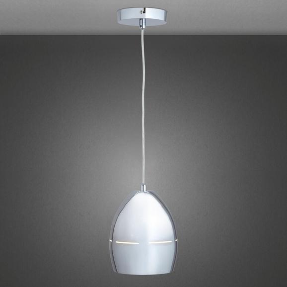 Pendelleuchte Diana - Chromfarben, MODERN, Metall (15,5/120cm) - Mömax modern living