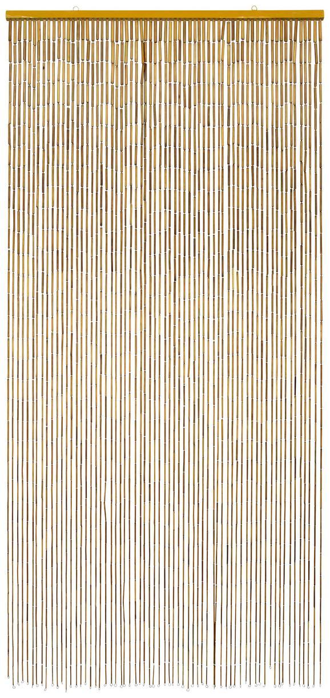 Končana Zavesa Ibiza - naravna, Konvencionalno, les (90/200cm) - Zandiara