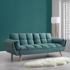 Sofa Clara mit Schlaffunktion - Mintgrün, MODERN, Holz/Textil (214/82/81cm) - Mömax modern living