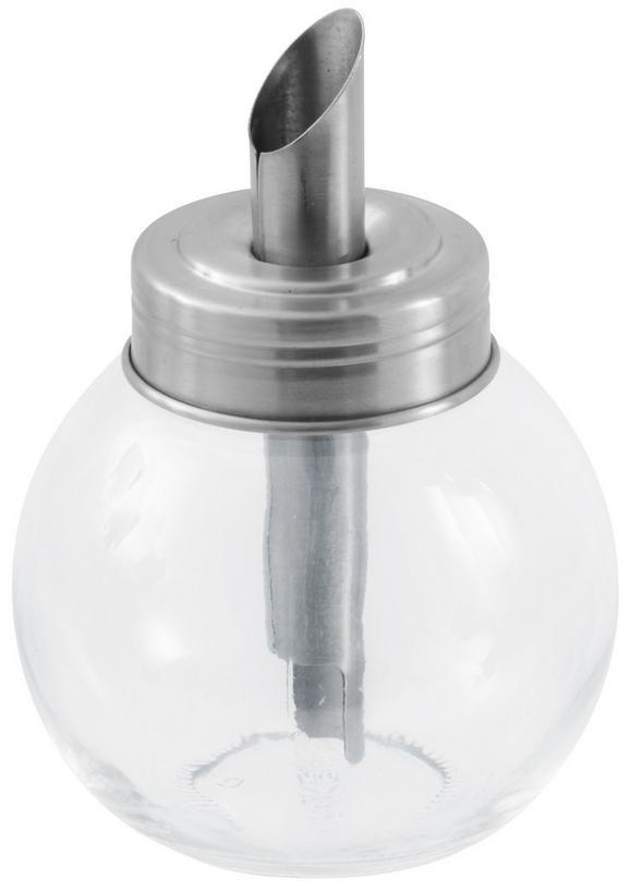 Posipalec Za Sladkor Opal - srebrna/prozorna, kovina/steklo (10cm) - MÖMAX modern living