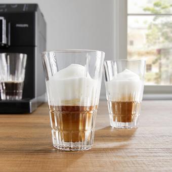 Latte-Macchiato-Gläserset Spiegelau 4-teilig - Klar, MODERN, Glas - Spiegelau