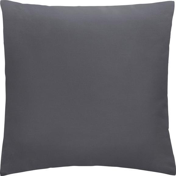 Kissen Diane 40x40cm - Dunkelgrau, KONVENTIONELL, Textil (40/40cm) - Mömax modern living