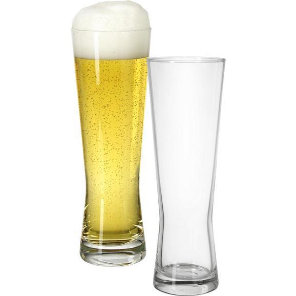 Bierglas Monaco ca. 300ml - Klar, Glas (6,8/20,7cm) - Mömax modern living
