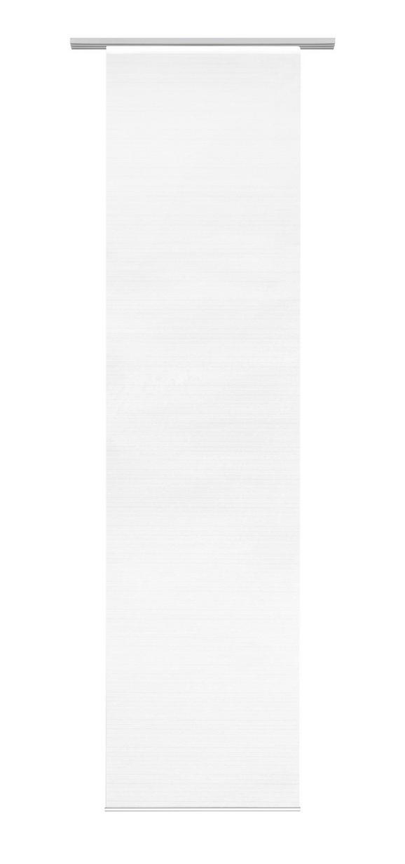 Flächenvorhang Loft in Weiß,  ca. 60x245cm - Weiß, MODERN, Textil (60/245cm) - Mömax modern living