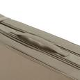 Lliegenauflage Polly - Taupe, MODERN, Textil (174/58/4cm) - Mömax modern living