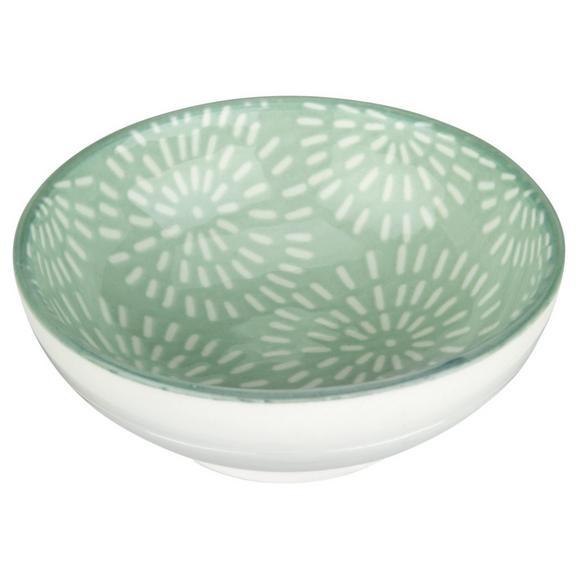 Dipschale Nina aus Porzellan Ø ca. 8cm - Mintgrün, Keramik (8cm) - Mömax modern living