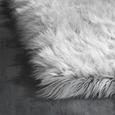 Kunstfell Teddy in Grau ca.100x150cm - Grau, Kunststoff (100/150cm) - Mömax modern living