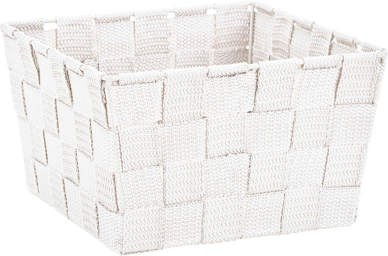 Korb Nelly in Weiß - Weiß, MODERN, Textil (19/19/11cm) - MÖMAX modern living