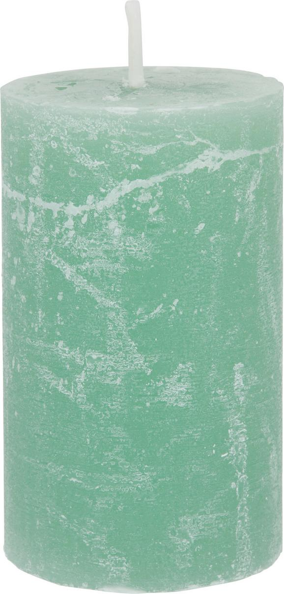 Sveča Lia - temno zelena, Moderno (6,8/12cm) - Mömax modern living