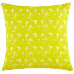 Zierkissen Lady Palms in Gelb ca.45x45cm - Gelb, LIFESTYLE, Textil (45/45cm) - Mömax modern living