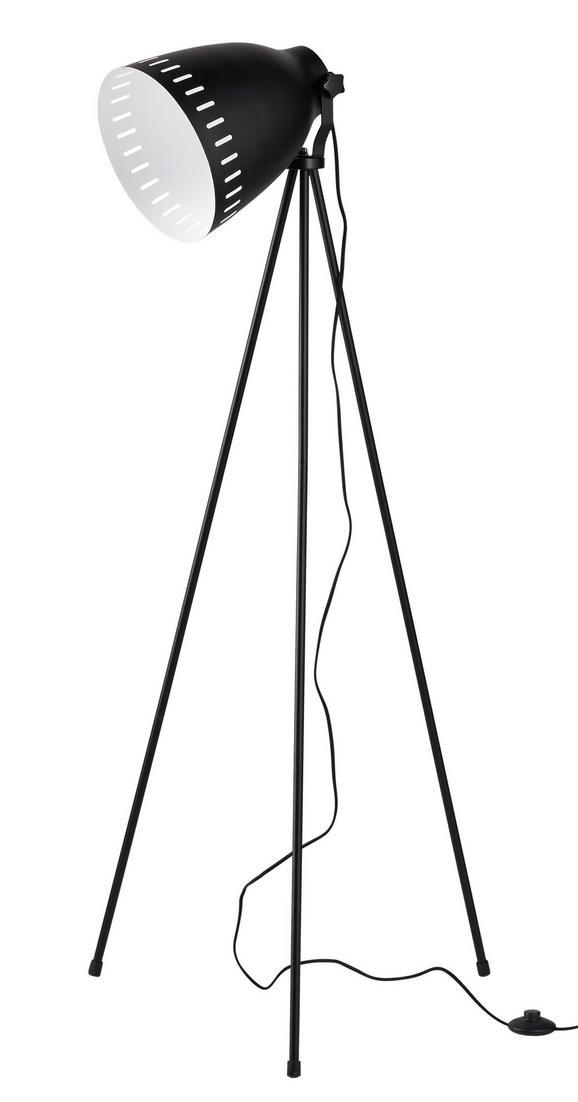 Stehleuchte Sven - Schwarz, MODERN, Metall (60/60/150cm) - Mömax modern living