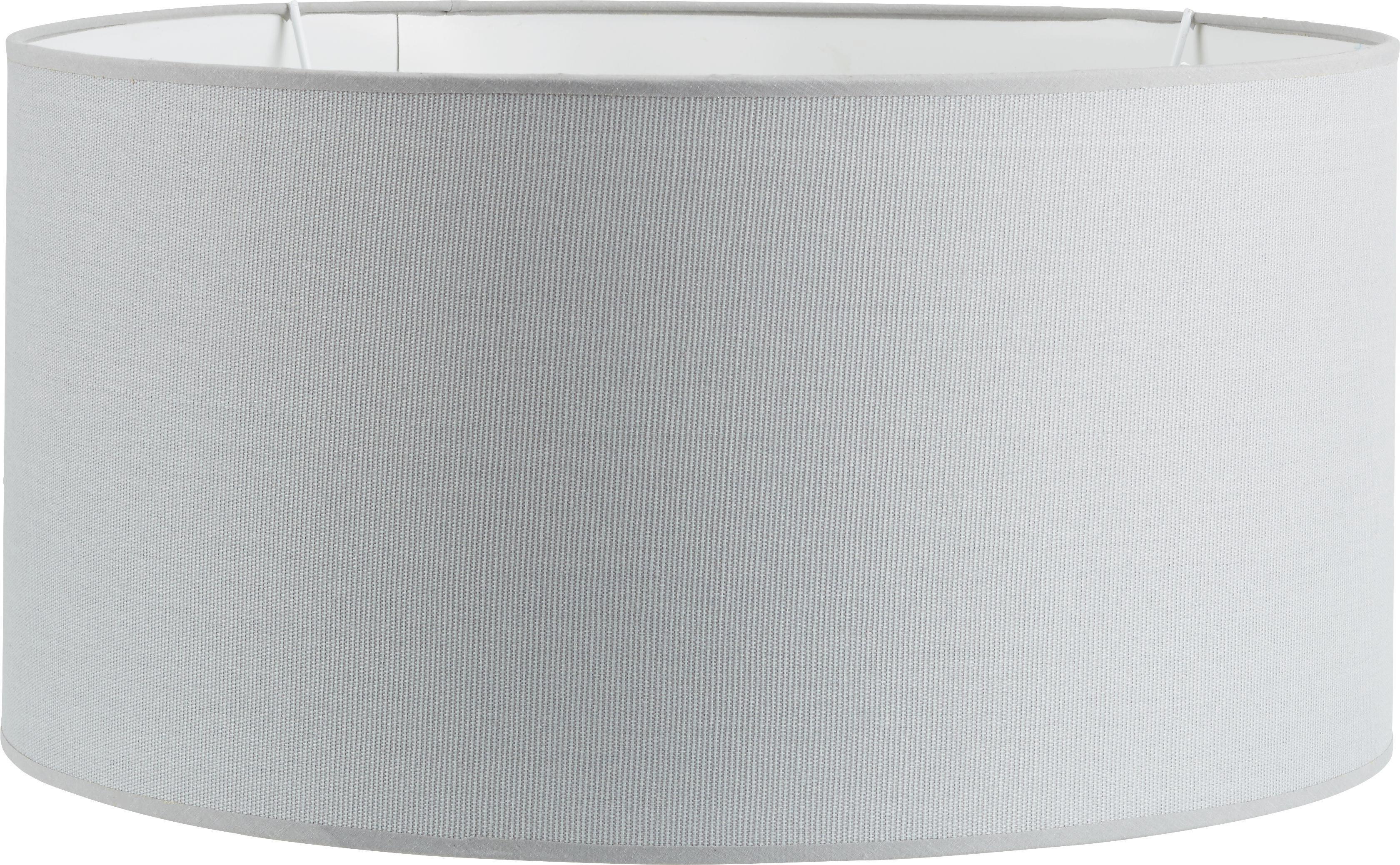 Lámpaernyő Arno - szürke, textil/fém (50/50/25cm) - MÖMAX modern living