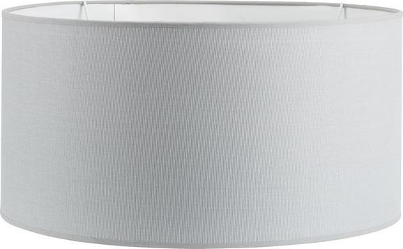 Leuchtenschirm Arno, max. 60 Watt - Grau, Textil/Metall (50/50/25cm) - Mömax modern living