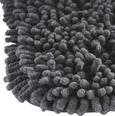 Wc-preproga Jenny - antracit, tekstil (55/55cm) - Mömax modern living