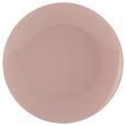 Plitvi Krožnik Sandy - roza, Konvencionalno, keramika (26,8/2,42cm) - Mömax modern living