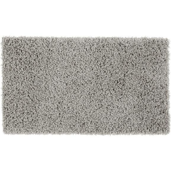 Hochflorteppich Bono in Hellgrau ca.60x100cm - Hellgrau, KONVENTIONELL, Textil (60/100cm) - Based