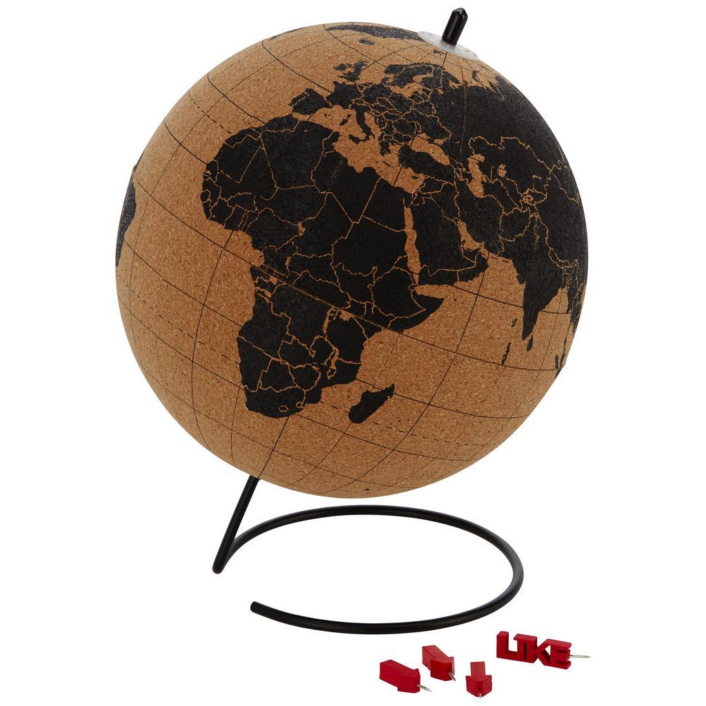 Globus Wander mit Weltkarten Design