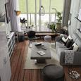 Namizna Svetilka Blanche - siva, Trendi, kovina (18/56cm) - Mömax modern living
