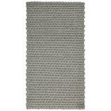 Handwebteppich in Grau ca.80x150cm 'Kordula' - Grau, MODERN, Textil (80/150cm) - Bessagi Home