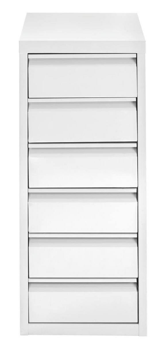 Container in Weiß - Weiß, Metall (28/67/41cm) - MÖMAX modern living