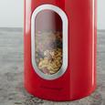 Echtwerk Vorratsdosenset 3-er Set Rot - Rot, MODERN, Metall (17,5cm) - Echtwerk