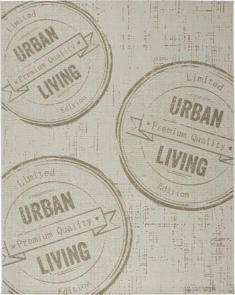 Flachwebeteppich Urban Living Natur 120x170cm - Naturfarben, LIFESTYLE (120/170cm) - Mömax modern living