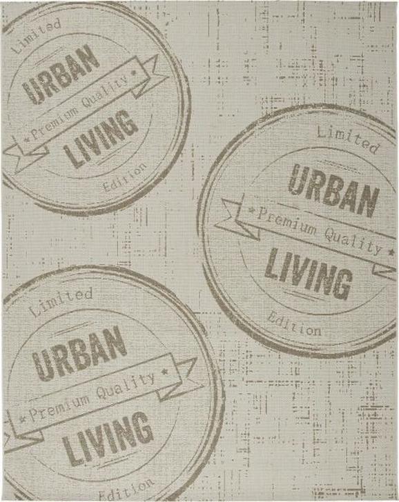 Flachwebeteppich Urban Living Natur 80x200cm - Naturfarben, LIFESTYLE (80/200cm) - Mömax modern living