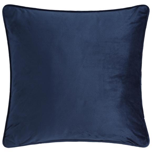 ZIERKISSEN Viola in Navy - Blau, KONVENTIONELL, Textil (45/45cm) - Premium Living