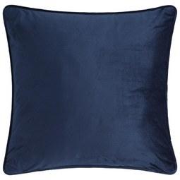 Zierkissen Viola in Navy ca. 45x45cm - Blau, KONVENTIONELL, Textil (45/45cm) - Premium Living