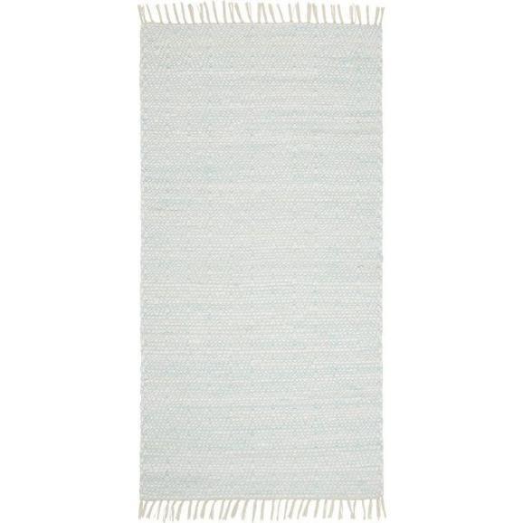 Ročno Tkana Preproga Mary 1 - turkizna, Romantika, tekstil (60/120cm) - Mömax modern living