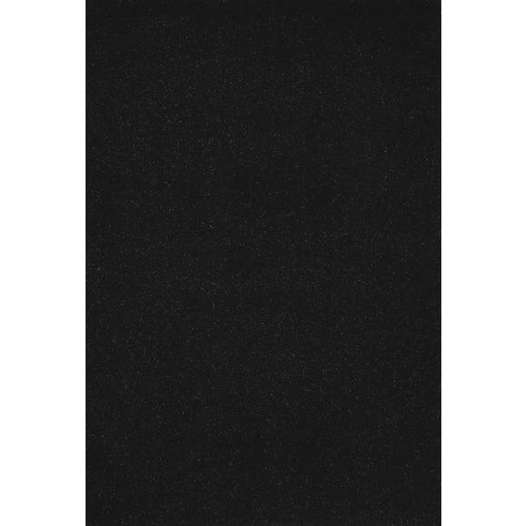 Hochflorteppich Neapel ca. 120x170cm - Schwarz, MODERN, Textil (120/170cm)